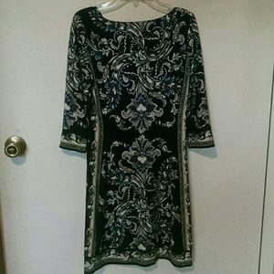 White House Black Market Dresses - White House Black Market long sleeve dress
